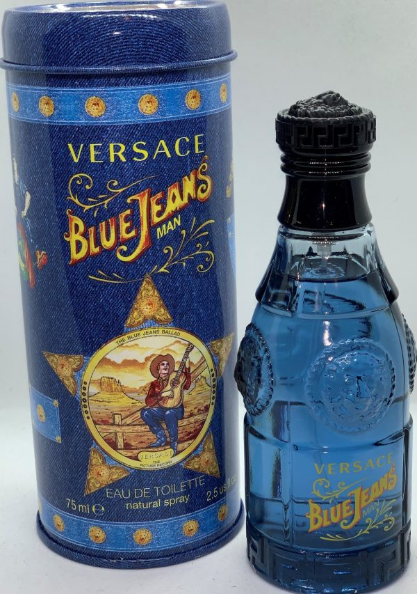 Blue Jeans by versace for men